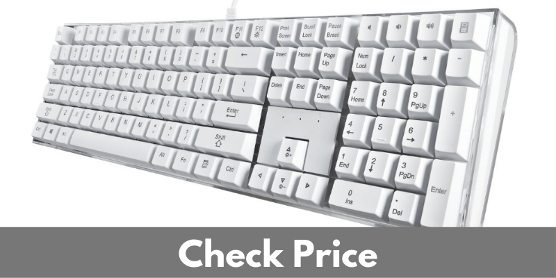 12 Best White Mechanical Keyboards [Reviewed Sep 2019]