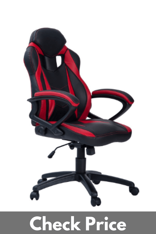 Merax PP033237 Ergonomic Racing Style PU Leather Chair