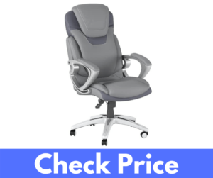 Serta AIR Health and Wellness Ergonomic High Back Computer Chair Review